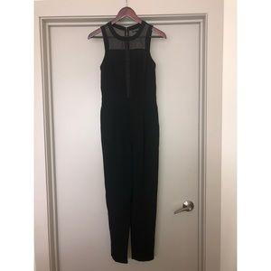 TOPSHOP Black Jumpsuit